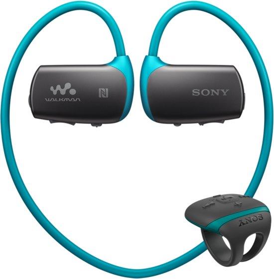 Sony NWZ-WS613 Walkman - Waterdichte MP3 speler - 4GB - Blauw in Vucht