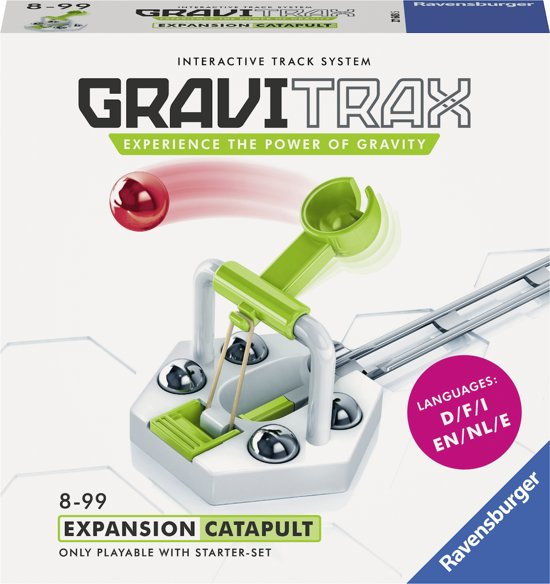 Afbeelding van GraviTrax® Catapult uitbreiding - Knikkerbaan / Kogelbaan speelgoed