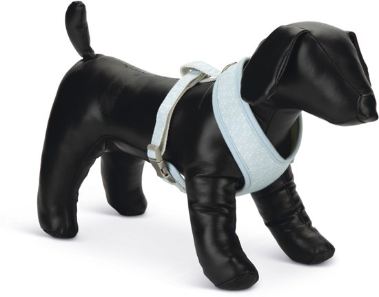 Beeztees Puppy Harno - Hondentuig - Blauw - M
