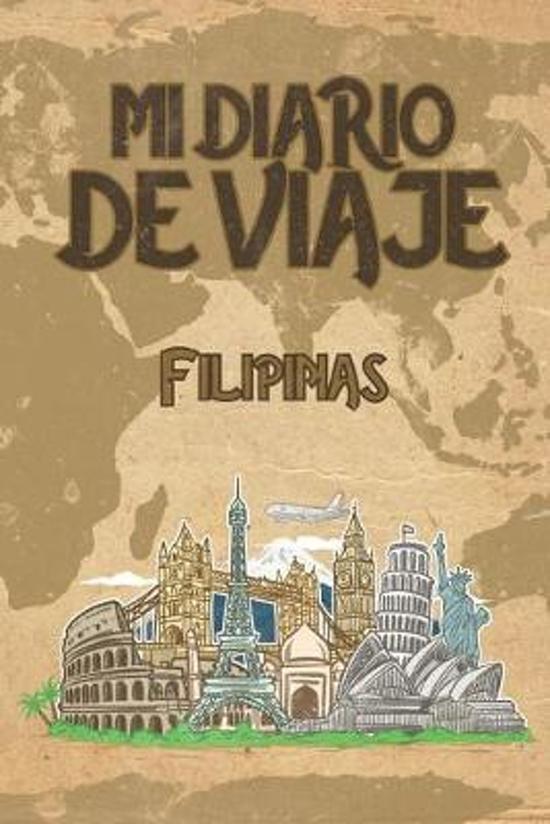 Mi Diario De Viaje Filipinas: 6x9 Diario de viaje I Libreta para listas de tareas I Regalo perfecto para tus vacaciones en Filipinas