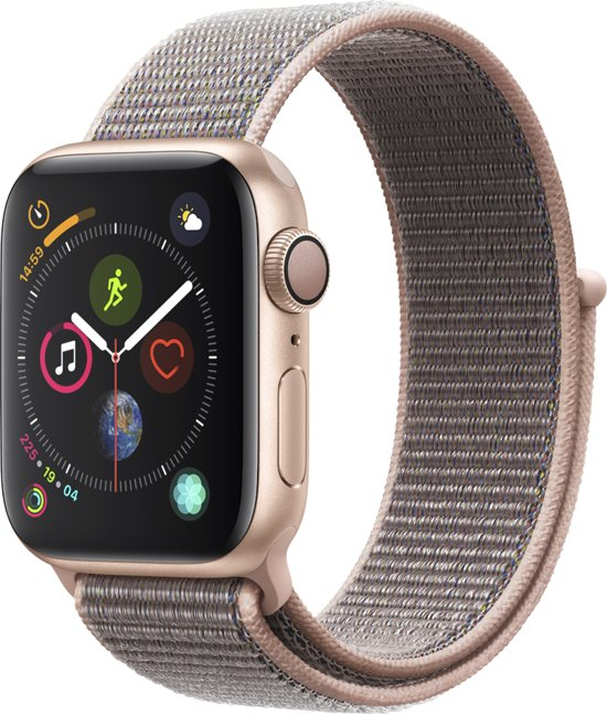 Apple Watch Series 4 - Smartwatch - Goud/Roze - 40mm