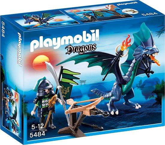 Playmobil Dragons: draak en krijger (5484)