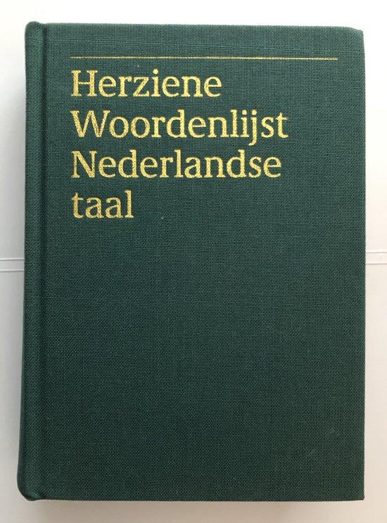 Herz woordenlijst Nederlandse taal(1993) - Auteur Onbekend |