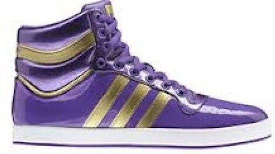 adidas Top X - Sneakers - Heren - Paars;Goud - Maat 36 2/3