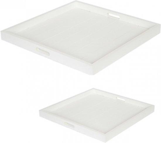 Dienblad / Tray Wit 60 x 60 cm