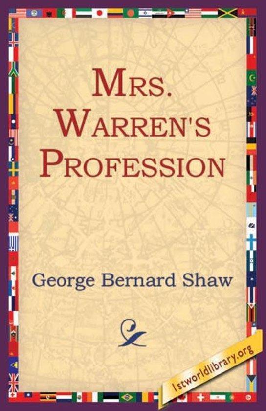 Analysis of Mrs. Warren's Profession Essay Sample