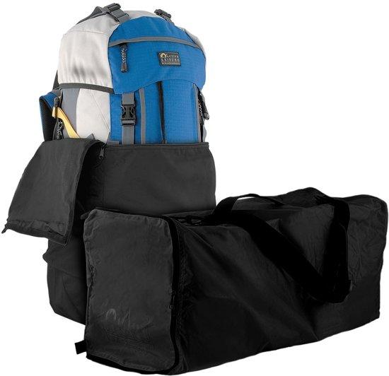 4051ce1c2b4 bol.com   Flightbag voor backpack - tot 55 liter - zwart