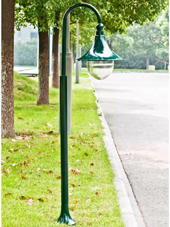 Vidaxl lantaarn tuinlantaarn cambridge 120 cm for Luminaire ancien exterieur