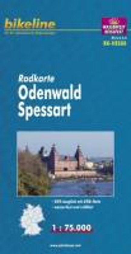Odenwald / Spessart Cycle Map