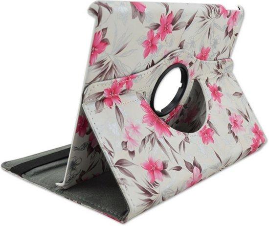 Couverture De Conception 360 ° Fleurs Roses Rotatives Pour Le Cas Pour Le Mini / 2/3 3k7m0AHBip