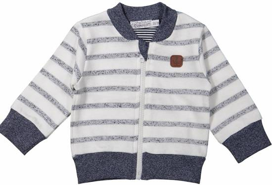 Kinderkleding Jongens.Bol Com Dirkje Kinderkleding Jongens Cardigan Blue Stripes 104