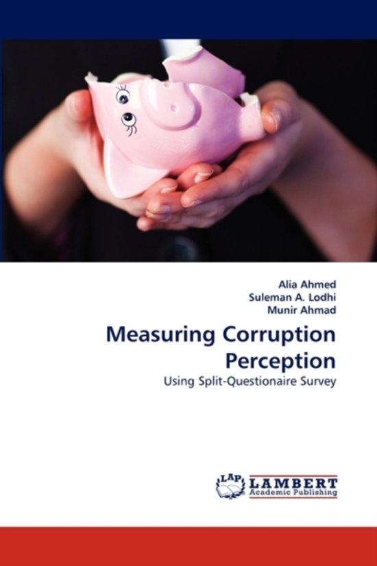 defining and measuring corruption Measuring corruption petter langseth --corruption definition and measurement / mark philp and what do corruption measures measure.
