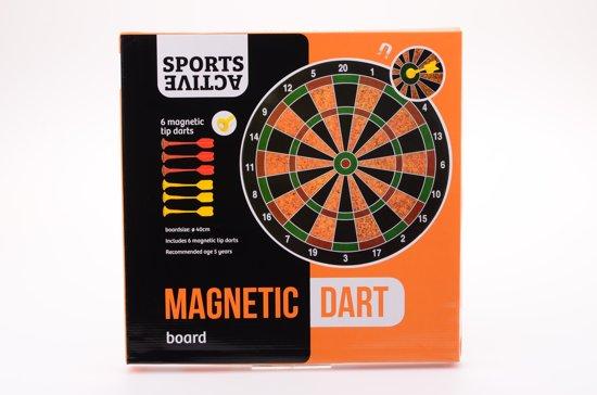 Afbeelding van het spel Johntoy Magnetisch Dartbord 35 Cm 7-delig