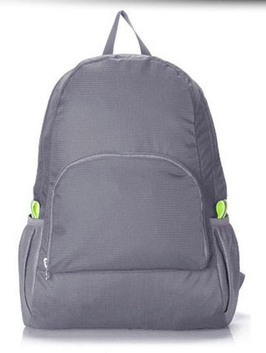 475307ec4ab CoshX® rugtas opvouwbaar lichtgewicht grijs - Backpack lightweight foldable  grey - reizen reis organizer