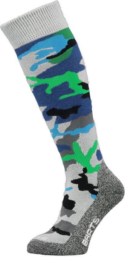 Barts Skisock Camo Kids - Ski Sokken - Maat 23-26 - Blue