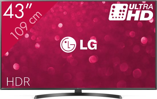 LG 43UK6470 - 4K TV