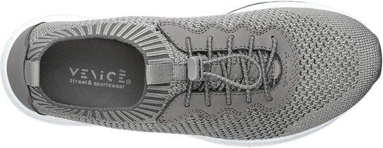 Knitted Dames 39 Venice Maat Sneaker Grijze Lightweight gxqq1wRp