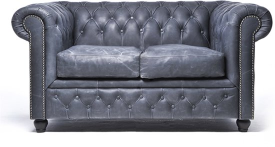 Chesterfield Original Brighton 2-zits Vintage Zwart
