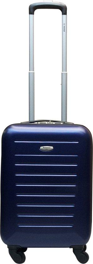 Benzi handbagage koffer Gomera S donkerblauw cabin trolley