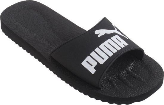 cbdcf68f2eb bol.com | Puma PureCat - Slippers - Unisex - Maat 40.5 - Zwart/Wit