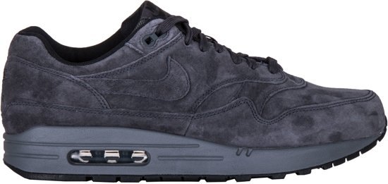 the latest 1464b 97d2e Nike Air Max 1 Premium - Sneakers - Donkergrijs - Heren - Maat 41