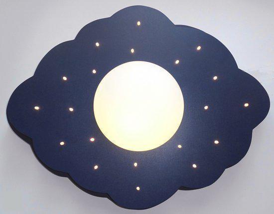 Plafonniere Blue : Bol.com funnylight wolk groot plafonniere 20 lichts blauw