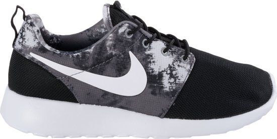 nike roshe run dames grijs wit