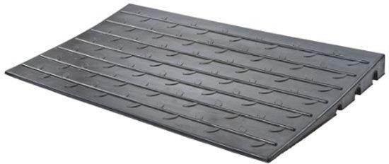 Roege international Rubber drempelhulp 6,3 cm zwart 610 mm x 1070 mm