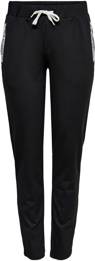 Only Play Pora Slim Sweat Pants Dames Sportbroek - Zwart - Maat M