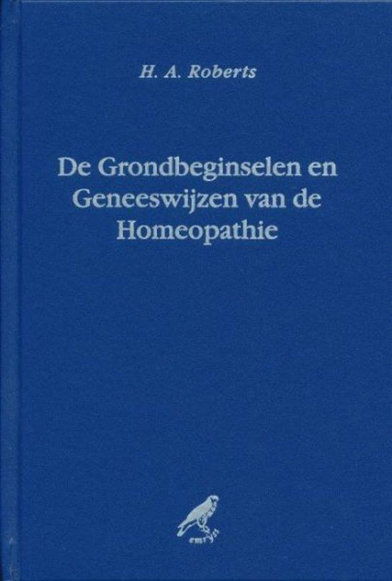 De grondbeginselen en geneeswijze van de homeopathie