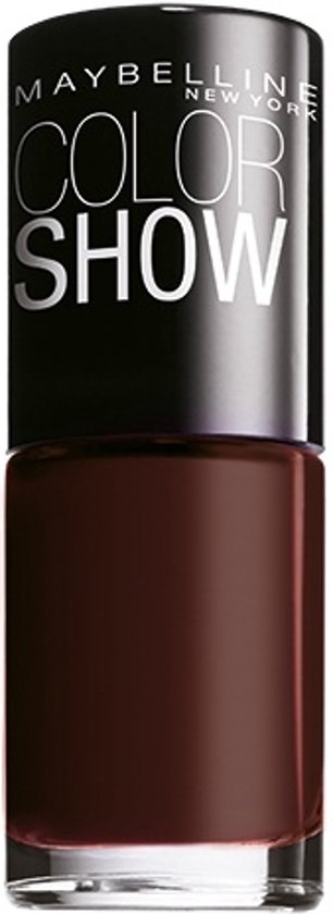 Maybelline Colorshow Burgundy Kiss 357 - nagellak