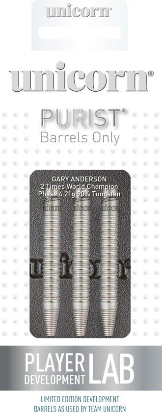 Unicorn Dartbarrels Gary Anderson Phase 4 90% Gewicht 27 Gram