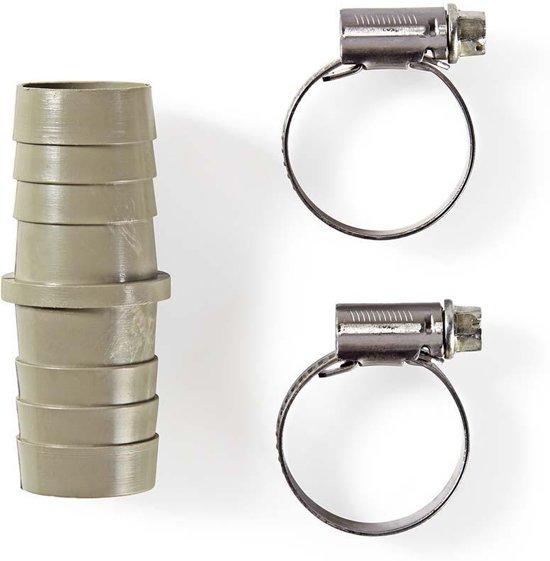 Slangverlengstuk | 2 slangklemmen | 19 mm - 19 mm
