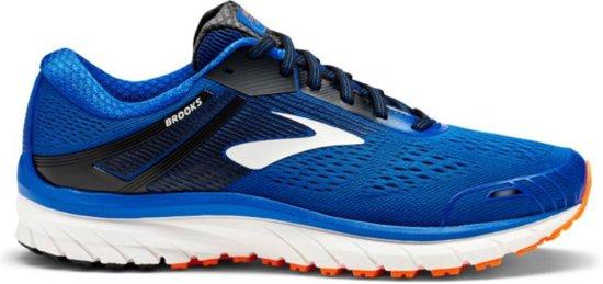 Brooks Adrenaline GTS 18 blauw hardloopschoenen heren