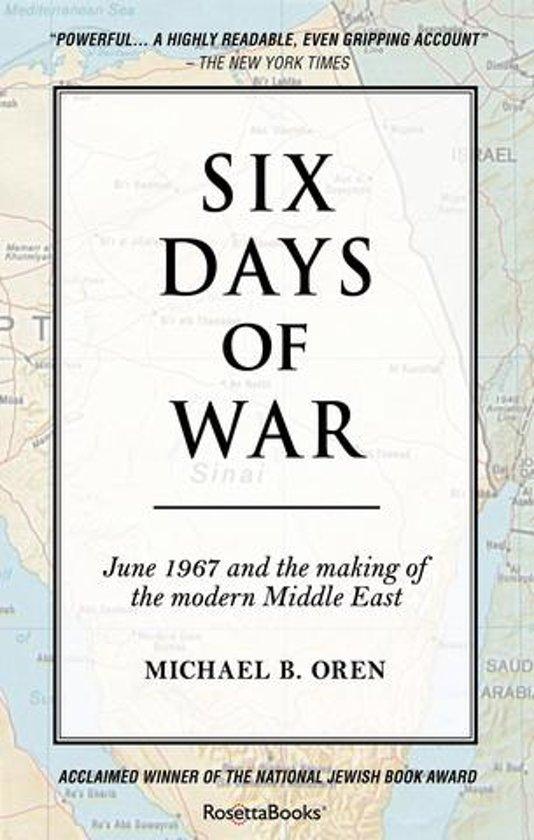 bol com | Six Days of War (ebook), Michael Oren | 9780795311857 | Boeken