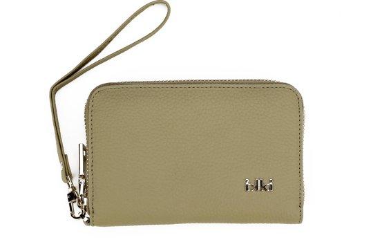 46275df2e43 bol.com | IKKI Fashion Leah - Portemonnee - Taupe