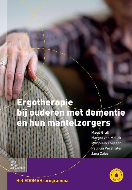 Boek cover Ergotherapie bij ouderen met dementie en hun mantelzorgers van Maud Graff (Onbekend)