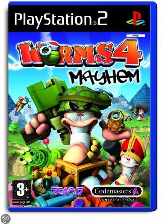 Worms 4: Mayhem /PS2