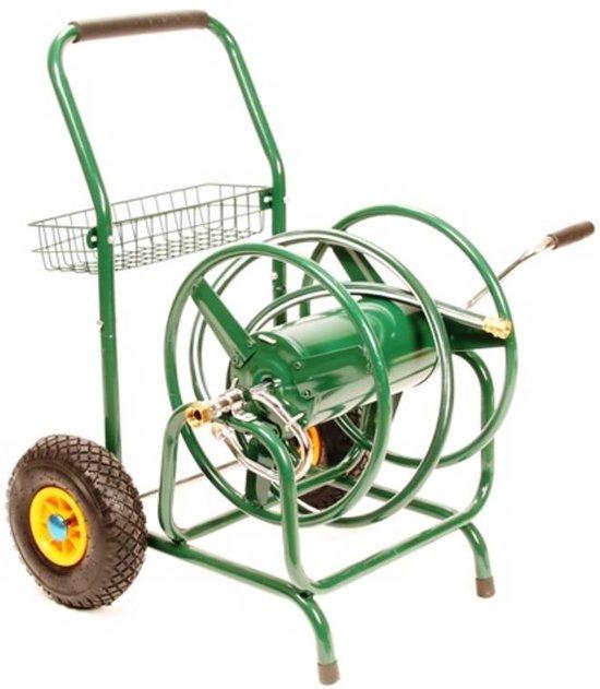 Tuinslanghaspel / Slangenwagen 2 wielen Geschikt Voor 135 meter