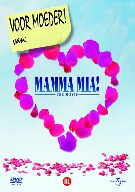 DVD cover van Mamma Mia! The Movie - Moederdag Editie