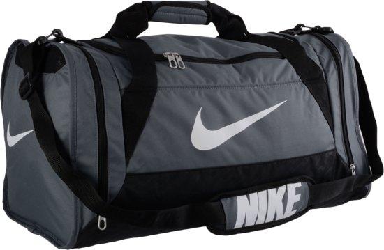 Nike Brasilia 6 Bag Medium - Sporttas - Unisex - One size - Grijs
