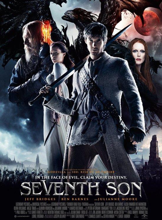DVD cover van Seventh Son