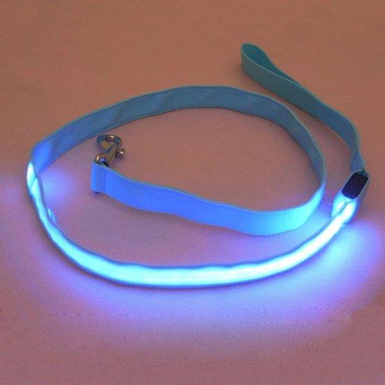 3 standen lichtgevende led hondenriem honden riem met verlichting voor halsband 120 centimeter