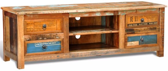 Gerecycled  - Tv-meubel - Multi - Hout