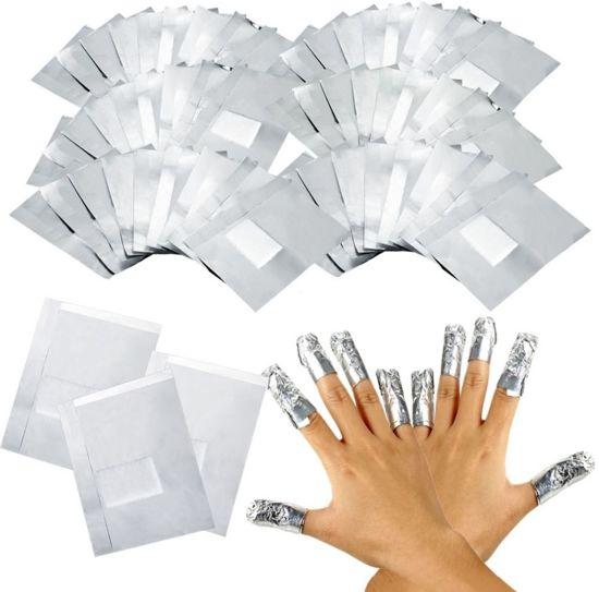 Gellak Remover / Gel Nagellak Verwijderaar - Soak Off Gel Wrap Pads - 100 Stuks