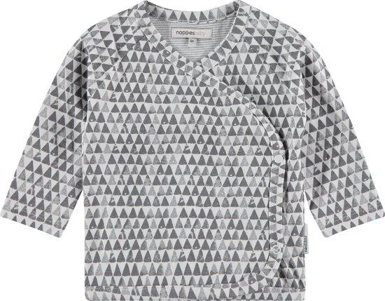 Noppies Unisex T-shirt - Grijs - Maat 56