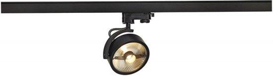 SLV KALU TRACK QPAR111 lampekop Railverlichting 1x75W Zwart 152610