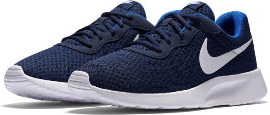 ceb9ff519e6 bol.com | Nike Tanjun Sneakers Heren - Blauw - Maat 44.5