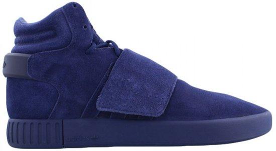 945066772bc bol.com | Adidas Tubular Invader Sneakers Heren Blauw Mt 47 1/3