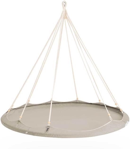 TiiPii bed hangmat taupe/licht grijs - 180 cm